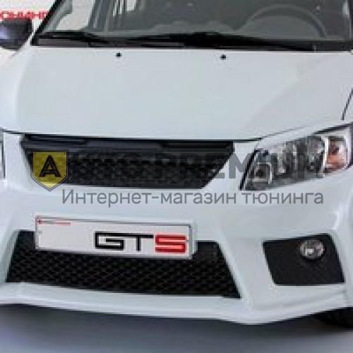 Передний бампер GTS на Лада Гранта