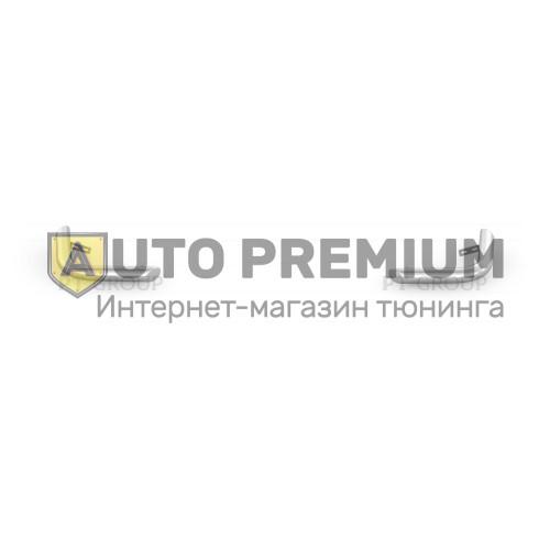 Защита заднего бампера угловая Ø63мм (НПС) UAZ Patriot 2014-